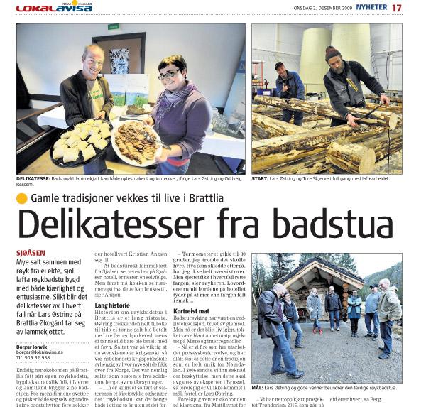Faximile, Lokalavisa